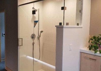 Door with panel