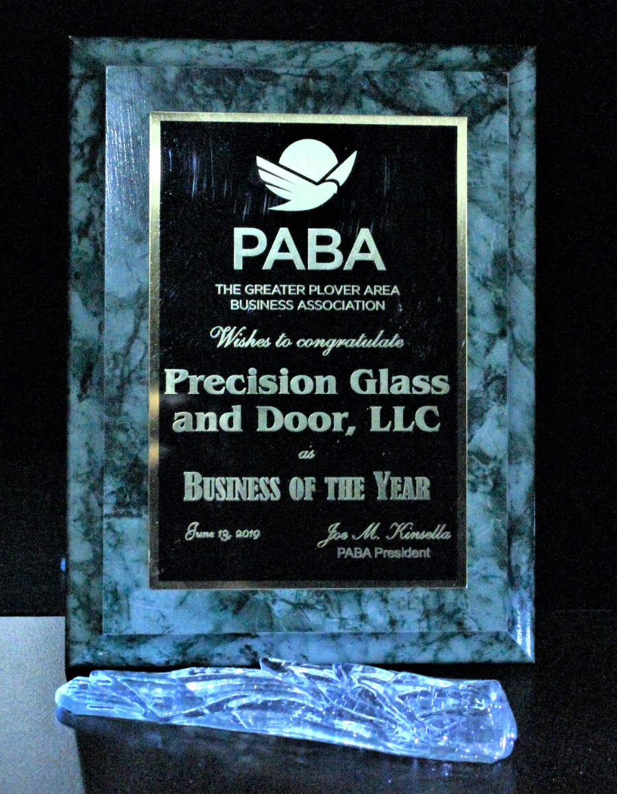 PABA Business of the year award